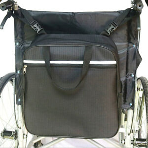Wheelchair Side Hanging Storage Bag Pouch fit most Scooters,Walkers,Rollators