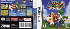 Super Mario 64 Nintendo DS Replacement Box Art Case Insert (No Game, No Box)
