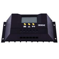 30A Solar Regulator Solar Charge Controller 12/24V 360W/720W LCD Solar Genetator