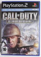 jeu CALL OF DUTY LE JOUR DE GLOIRE pour playstation 2 PS2 en francais spiel fps