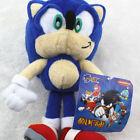New Sonic the Hedgehog Blue Anime Figure Plush Soft Stuffed Toy Doll 8 inch