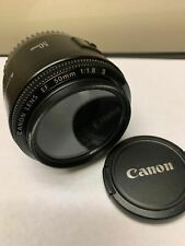 Canon EF 50mm 1.8 II Fixed/Prime Lens