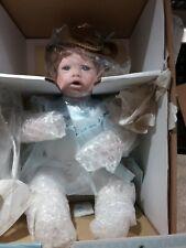 Ashton Drake - Porcelain Doll - I Wish You Wisdom - Original Box / Coa