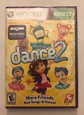Nickelodeon Dance 2 : Dora Explorer (Microsoft Xbox 360 KINECT) NEW Sealed