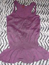 Cute TIPSTER Lilac pink peplum/ruffle hem vest top Size 8