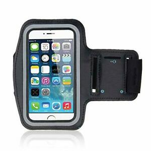"""Gym Running Phone Arm Band Sports Phone Case Holder Strap touchscreen Phone 6""""IN"""