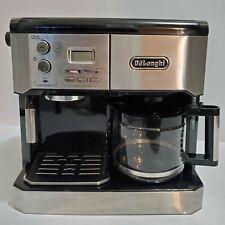 DeLonghi BCO430 Combination Pump Espresso and 10-Cup Drip Coffee Machine Silver