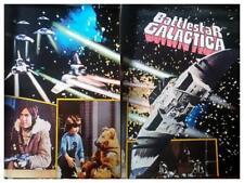 4 interlocking BattleStar Galactica 1978 Movie posters 36X49ea. 72 X 98 overall