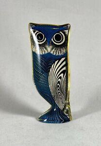 Abraham Palatnik?  Mid Century Modern Op Art Lucite Barn Owl Bird Sculpture