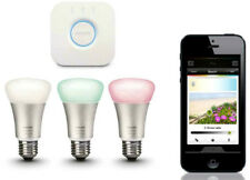 PHILIPS Hue 2020 White & Colour Ambiance E27 Starter KIT Apple Alexa Google Nest