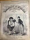 1862 Rare Civil War Satire Newspaper ~ LOUIS NAPOLEON ~ JOHN BULL
