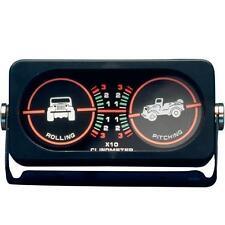 Jeep CJ Wrangler YJ TJ JK Clinometer With Jeep Logo Backlite Smittybilt 791005