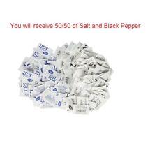 N'Joy Iodized Salt & Black Pepper Packets 500,750,1000 FAST SHIPPING