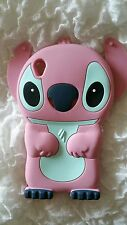 Cover for mobile STITCH1 PINK SILICONE for SONY XPERIA Z1 L39H