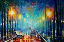 Unframed Canvas Art Print A4 Size High Quality Romantic Night Home Decor