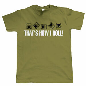 That's How I Roll Mens Funny Off Road T Shirt - 4X4 Green Laning Defender fan