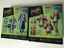 NEW 2X Suicide Squad Medicom Toy Mafex The Joker & Harley Quinn SHIPS FROM USA