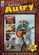 GENE AUTRY COLLECTION 12 New Sealed 2 DVD Set 4 Restored Films