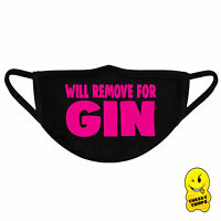Cheeky Soft Face Mask Face Covering Unisex Reusable FM05 - remove for gin