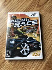 Build N Race Sealed Nintendo Wii Cib XP3