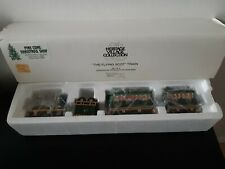 Dept 56 Heritage Village Collection 5573-5 The Flying Scot Train Set of 4