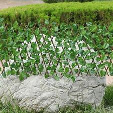 1x Expanding Fence Retractable Fence Artificial Garden Plants Fence UV Protected