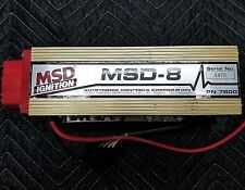 MSD Ignition 7800 MSD 8 CD Ignition Control