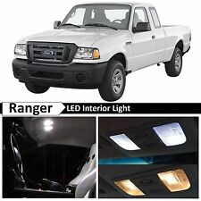 11x White Interior LED Lights Package Kit for 1998-2011 Ford Ranger