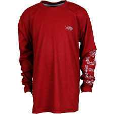AFTCO Youth Jigfish Long Sleeve  NWT  XXL   Color: Chili