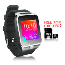 NEW!!! SmartWatch Phone (GSM unlocked) Android Watch OS + Camera + 32gb Bundle