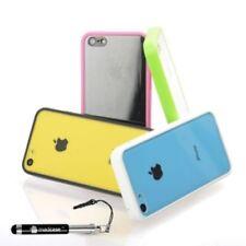Fundas y carcasas de plástico de color principal transparente para teléfonos móviles y PDAs Apple