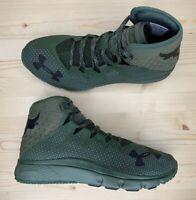 Under Armour Project Rock Delta DNA Green Training Shoes 3020175-300 Men's Sz 10