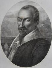 OLIVIER DE SERRES . Portrait, lithographie de 1821,