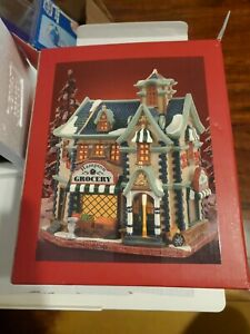 Lemax Village Collection Hampton Grocery 2004 Lighted House