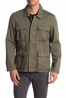 John Varvatos Men's Field Jacket: Size S: Olive (8)