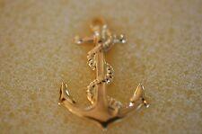 US USA USN Navy Anchor Military Hat Lapel Pin