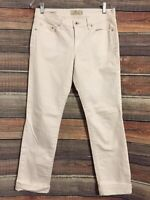 Lucky Brand Size 6/28 White Sweet N Straight Jeans