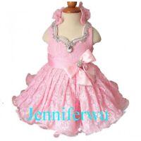 Jenniferwu Infant//toddler//kids//baby//children Girl/'s Pageant//prom Dress G086-4