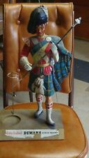 Vintage Original Dewar's Highlander Bar Advertising Figure