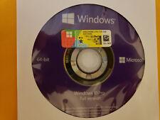 Microsoft Windows 10 PRO Professional 64bit DVD + COA Product Key + Hardware🔥🔥
