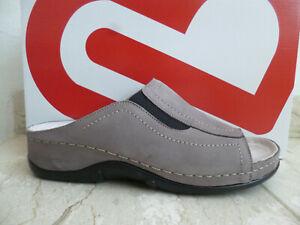 Berkemann Ladies Mules Slippers Stone Leather 01105 New