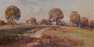 Doug Sealy, Bennetts Place, Wattle Flat, Superb Australian Landscape.
