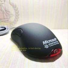 Microsoft Intellimouse Fiber USB and PS / 2 IO1.1 Pure Black Gaming Mouse