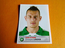 N°360 LANDRIN AS SAINT-ETIENNE ASSE VERTS PANINI FOOTBALL FOOT 2007 2006-2007