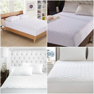 CLASSIC QUILTED MATTRESS PROTECTOR FITTED COVER SHEET SINGLE SMALL DOUBLE KING