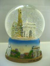 Eiffel tower huge snow globe Paris souvenirs of France