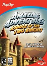 Amazing Adventures Riddle Of The Two Knights PC Games Windows 10 8 7 XP Computer