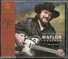 Waylon Jennings - The RCA Essential 20 Tracks - NEW CD