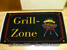 Fahnen Flagge Grill Zone - 90 x 150 cm