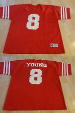 Men's San Francisco 49ers Steve Young XL (50/52) Jersey Vintage Logo 7 Jersey